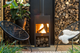 STIG Outdoor Corten Steel Fireplace by potstore.co.uk